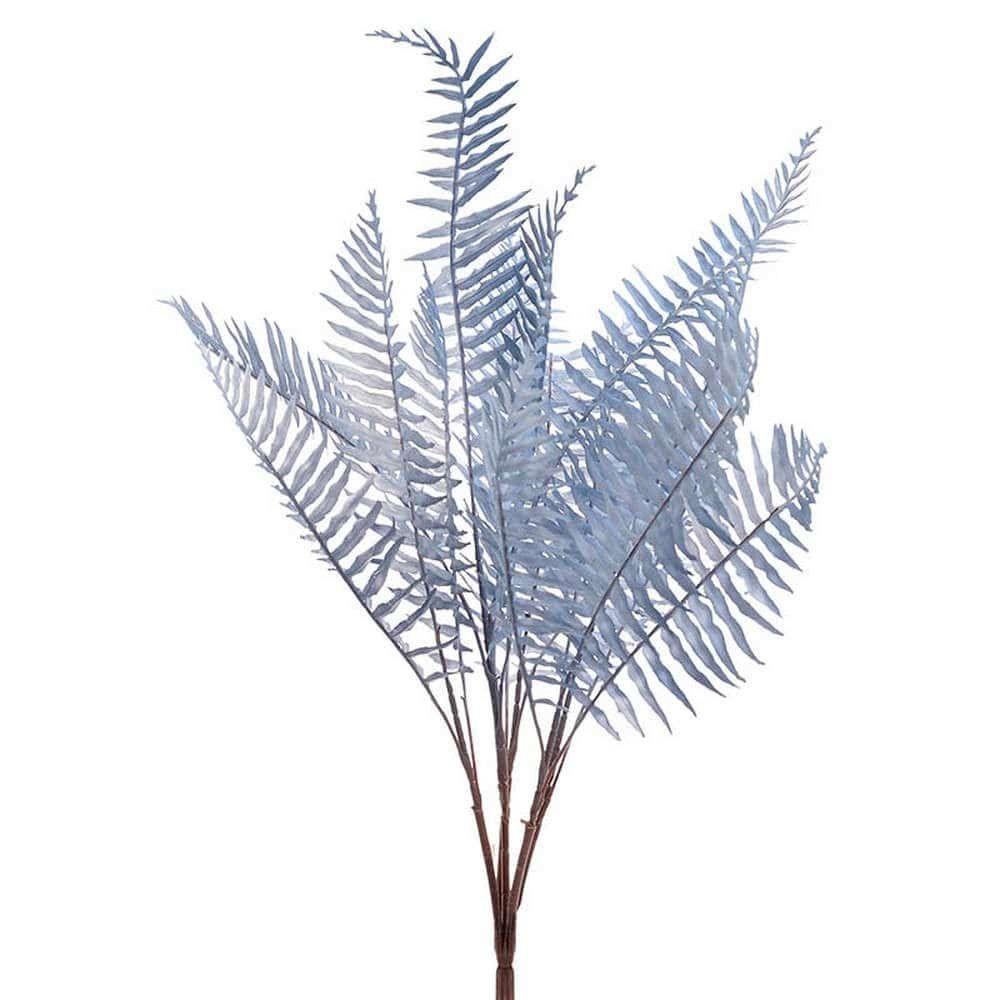 Διακοσμητικό Κλαδί-Φυτό 3-85-405-0007 Υ70 Blue Inart