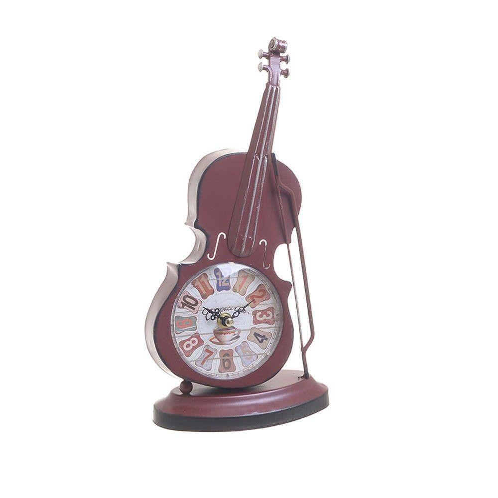 Ρολόι Επιτραπέζιο Βιολί 3-20-977-0286 18Χ9Χ31 Bordo Inart