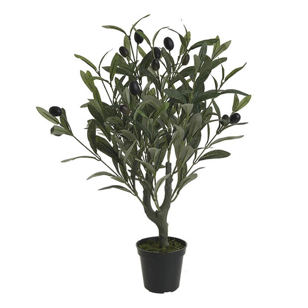 Τεχνητή Ελιά Σε Γλάστρα 3-85-475-0234 H50 Green-Black Inart