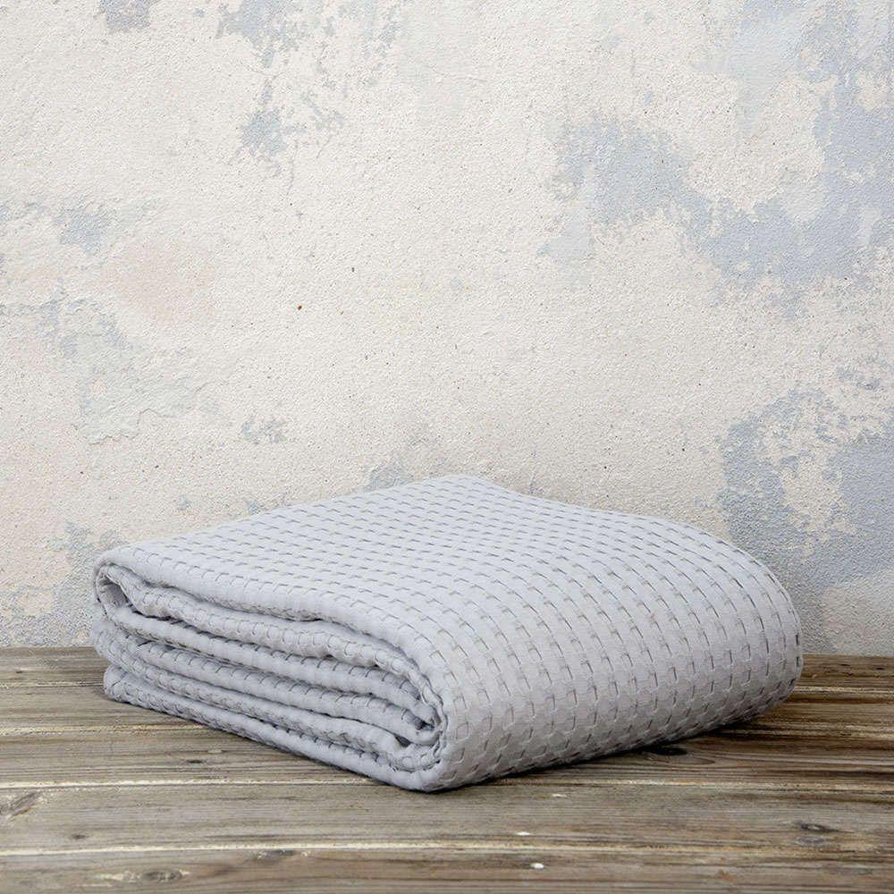 Κουβέρτα Habit - Earth Gray Υπέρδιπλη Nima
