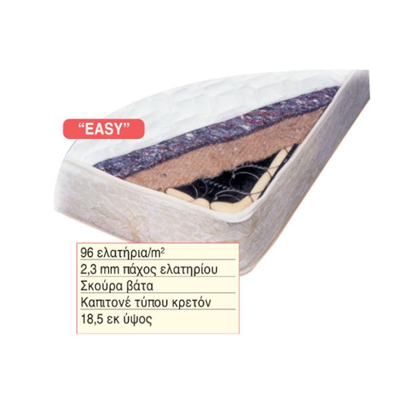 Στρώμα Easy 38-0106 190X90X18.5 cm