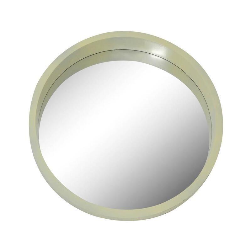 Καθρέπτης 802869 50x4x50,8cm Beige Ankor