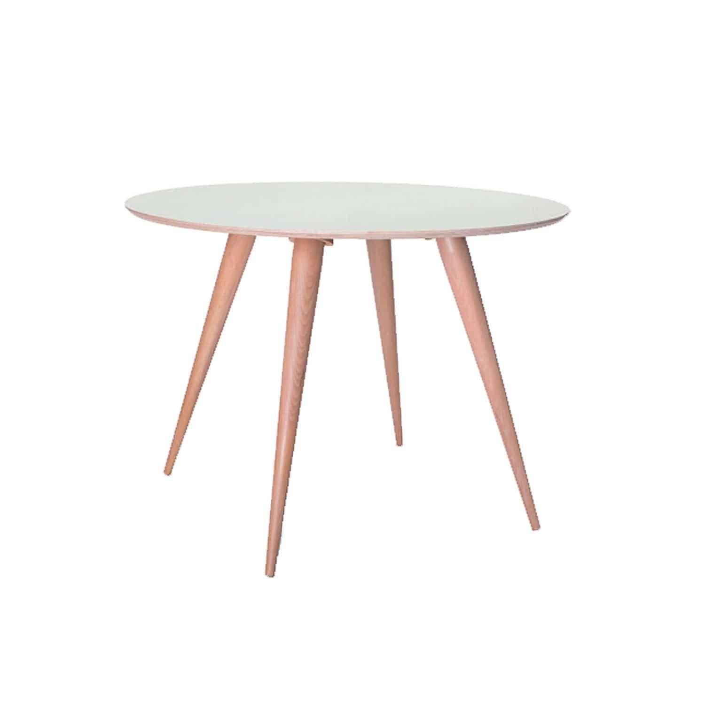 Τραπέζι Planet Round White Φ105X75 cm
