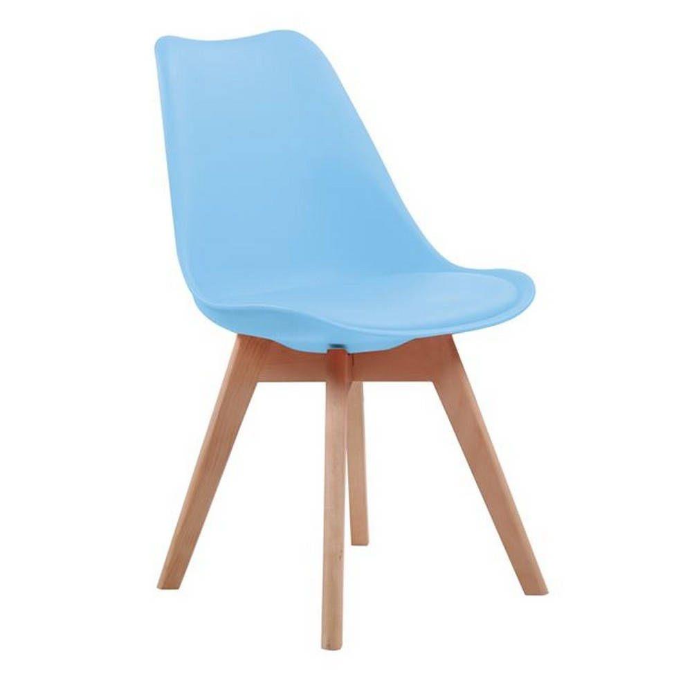 Καρέκλα Martin Blue ΕΜ136,54 49x57x82cm Σετ 4τμχ