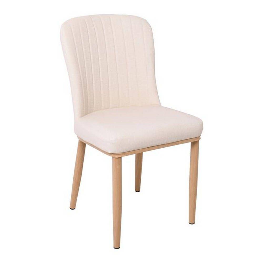 Καρέκλα Newton Natural/Ecru ΕΜ159,1 44x52x84cm Σετ 4τμχ