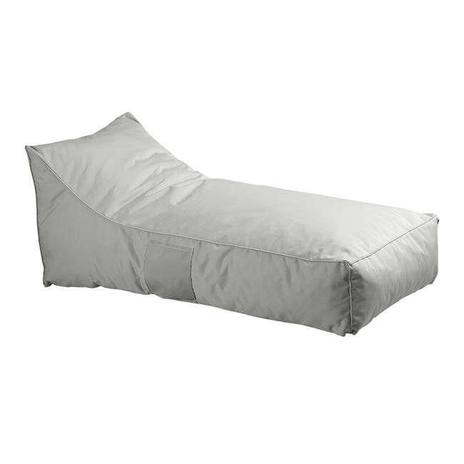 Πουφ Ξαπλώστρα Taco Ε029,5 140x70x60cm Grey